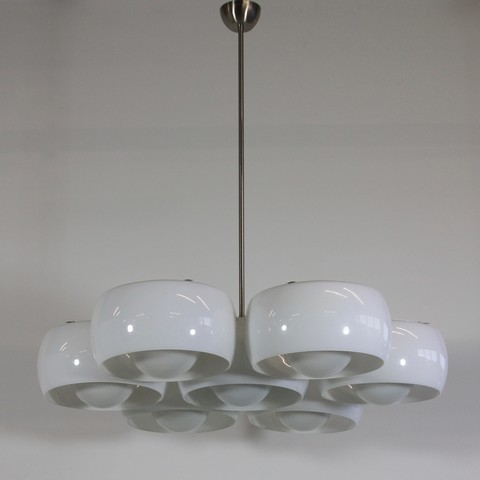Ceiling Lamp EPTACLINIO designed by Vico MAGISTRETTI for Artemide, 1961