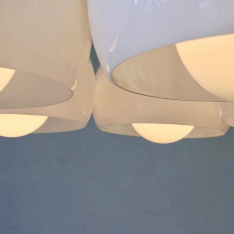 Ceiling Lamp PENTACLINIO designed by Vico MAGISTRETTI for Artemide, 1961