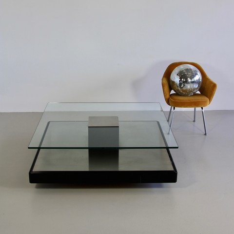 Coffee Table T147 by Marco FANTONI for TECNO 1971
