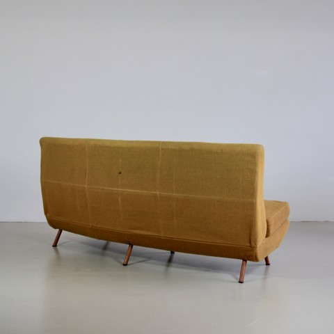 Curved Sofa by Marco Zanuso, 1950s