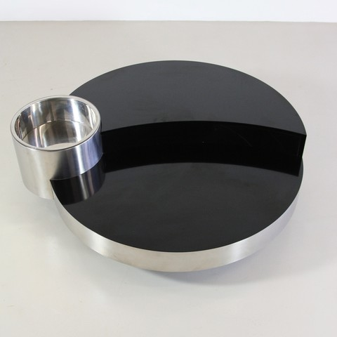 DeLuxe Coffee Table by Willy RIZZO, Sabot 1970's