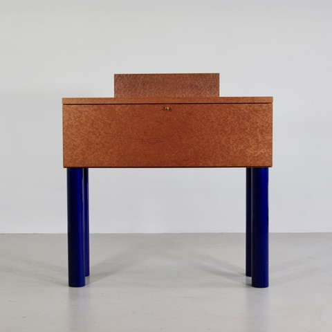 Desk/ Bureau + Chair designed by SOTTSASS and ZANINI 1986