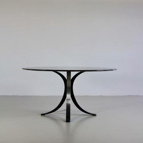 Dining Table by Osvaldo BORSANI with marble top, 1963/64