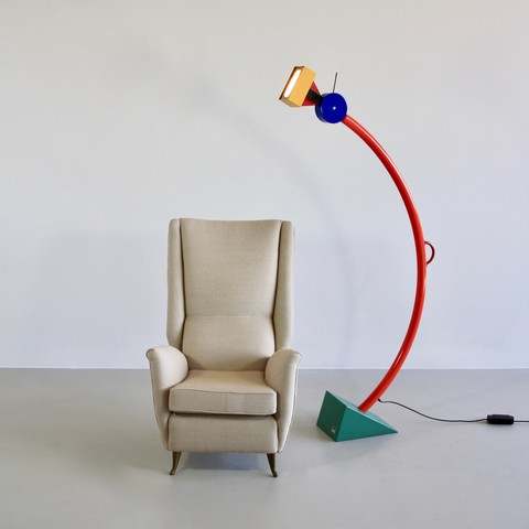 Floor Lamp by Ettore SOTTSASS, 1981