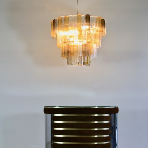 Large MURANO Glass Chandelier (3 colours), Italy