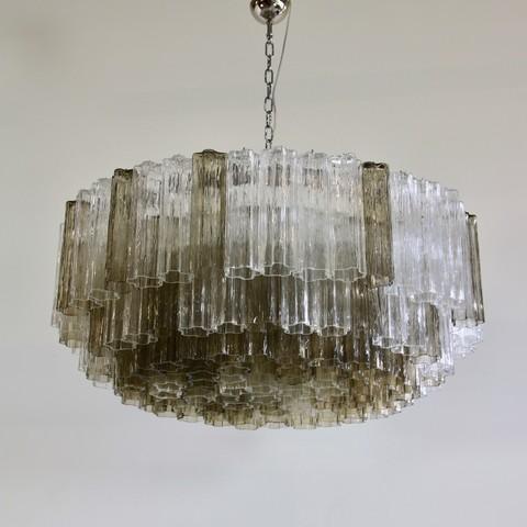Murano Glass Chandelier (Tronchi), Italy
