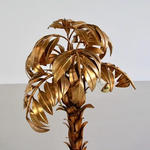 Palm Lamp by Hans KÖGEL. top