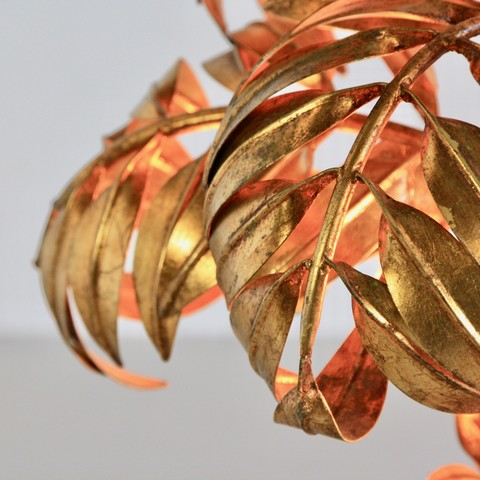 Palm Lamp by Hans KÖGEL. detail