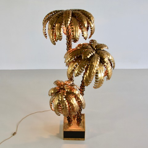 Very Large Palm Tree Lamp, France