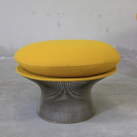 Strange Warren Platner Lounge Chair And Foot Stool Knoll Spiritservingveterans Wood Chair Design Ideas Spiritservingveteransorg