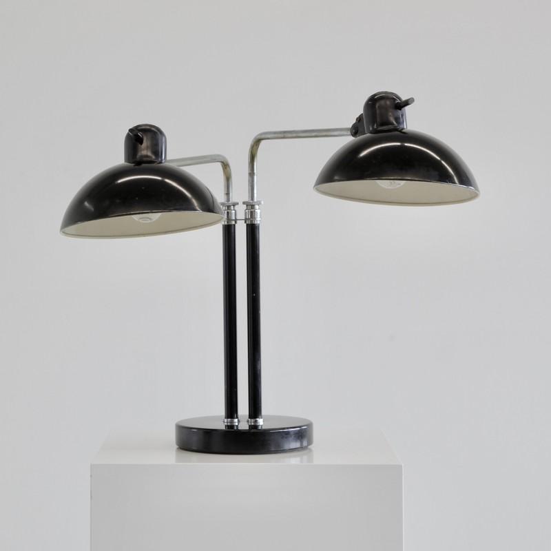BAUHAUS Idell 6580 Desk Lamp, design Christian DELL