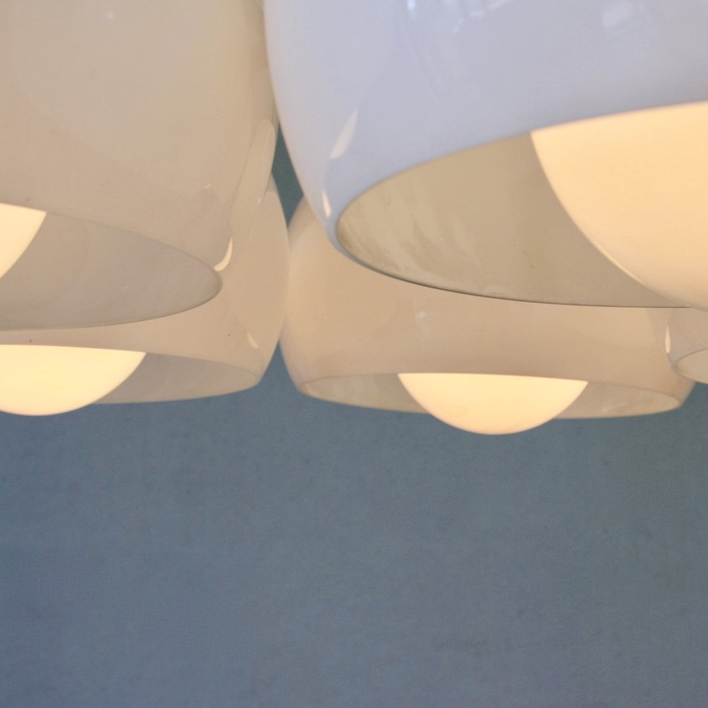 Ceiling Lamp PENTACLINIO designed by Vico MAGISTRETTI for Artemide, 1961