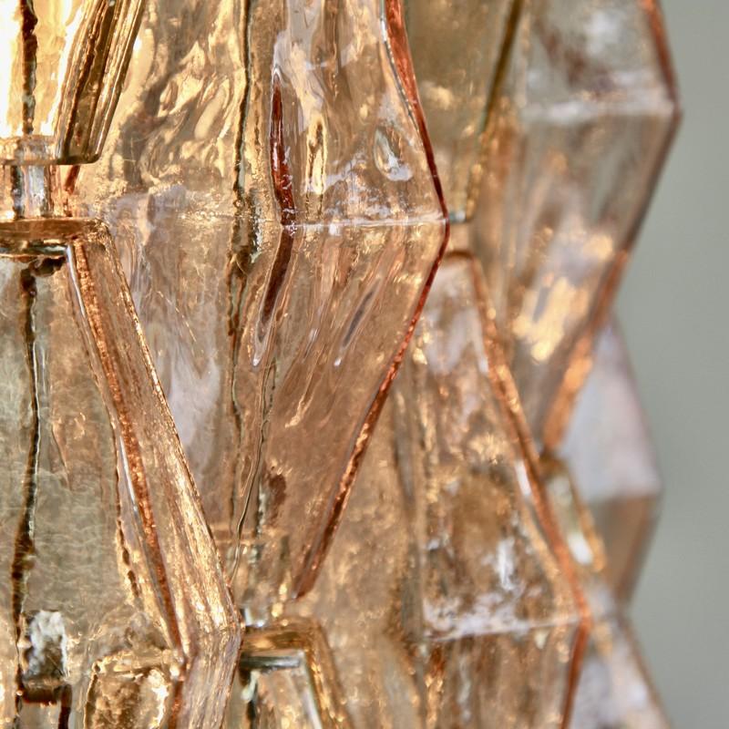 Chandelier by Carlo SCARPA, Murano Glass, 1960