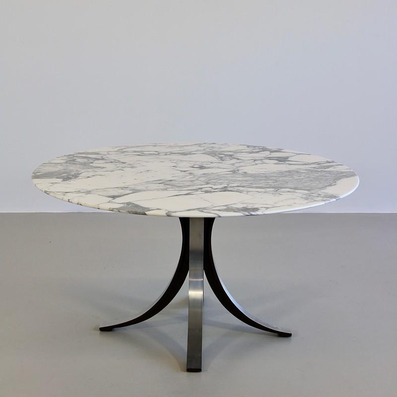 Dining Table by Osvaldo BORSANI & Eugenio GERLI with marble top, 1963/64