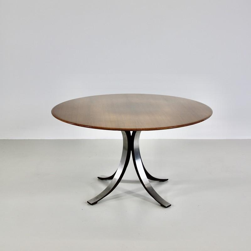 Dining Table by Osvaldo BORSANI & Eugenio GERLI with wooden top, 1963/64