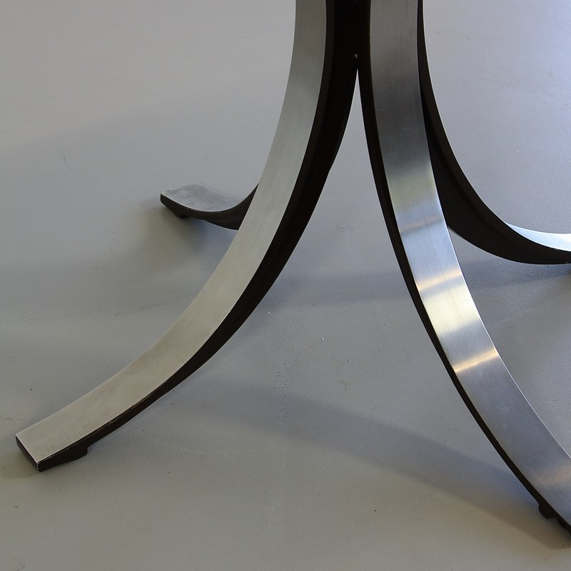 Dining Table by Osvaldo BORSANI & Eugenio GERLI with wooden top, 1963/64