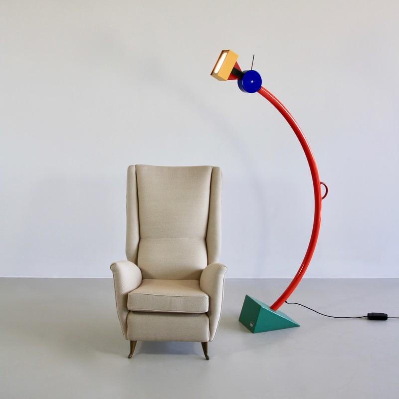 Floor Lamp by Ettore SOTTSASS, 1981
