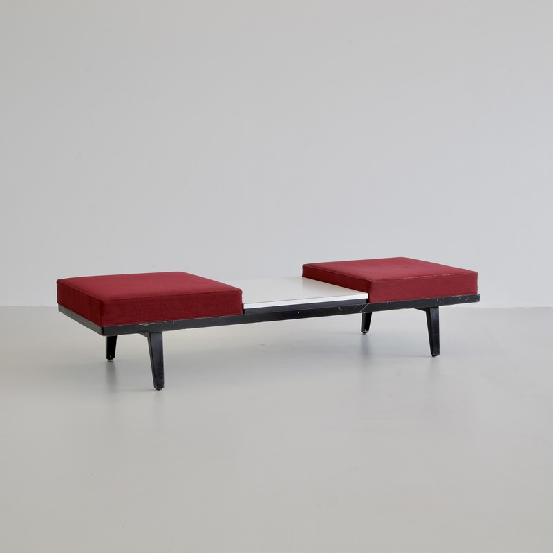 George NELSON Steel Frame Bench/ Table, 1955