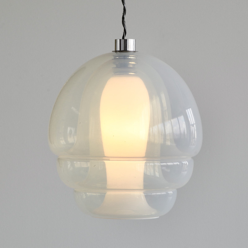 Glass Pendant by Carlo NASON for MAZZEGA