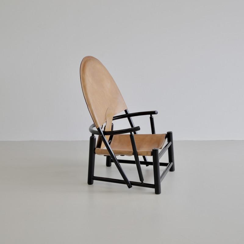 Hoop Armchair by PALANGE & TOFFOLONI