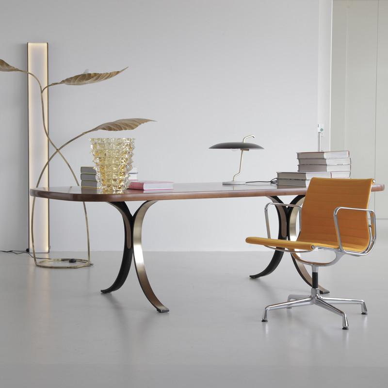 Large Dining Table/ Desk by Osvaldo BORSANI, TECNO