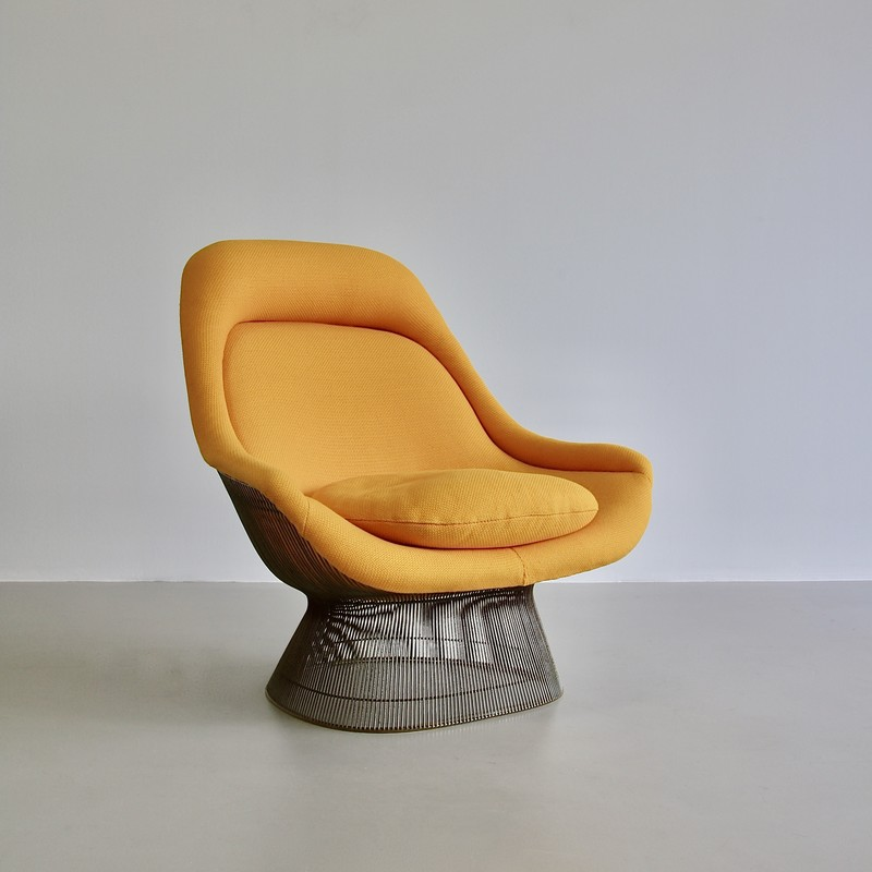 Lounge Chair and Footstool by Warren PLATNER