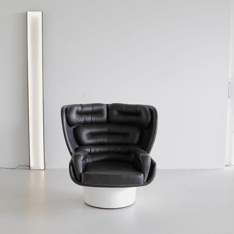 Original edition ELDA Chair by Joe COLOMBO