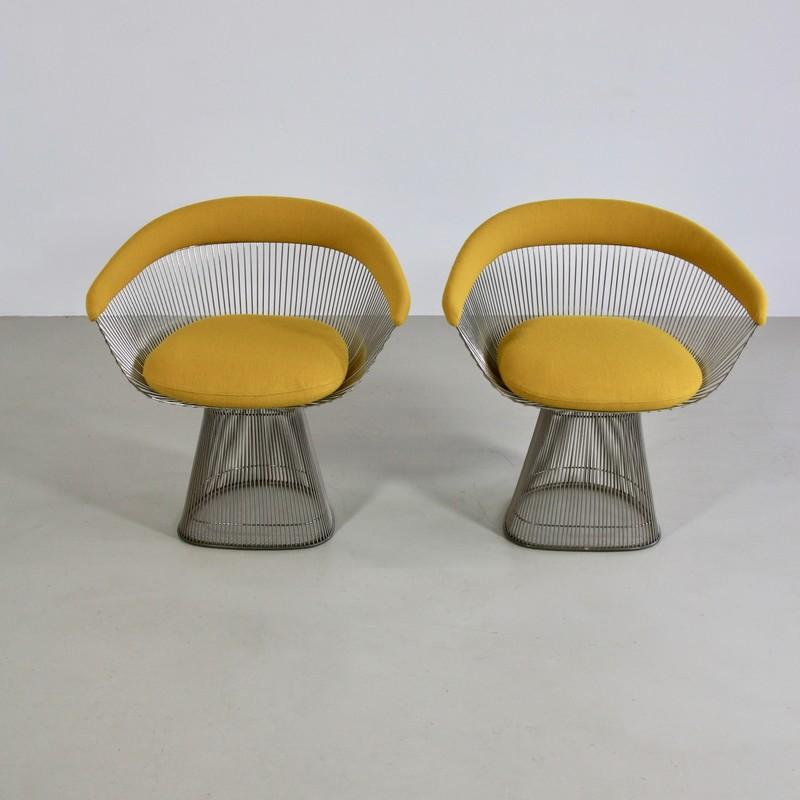 Pair of  Armchairs by Warren PLATNER, Knoll International