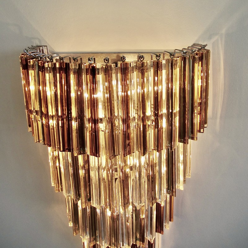 PAIR of large Wall Sconces with