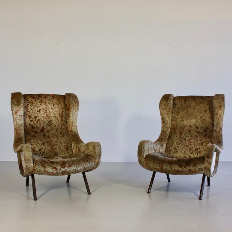 Pair of original SENOIR Armchairs by Marco ZANUSO, Arflex