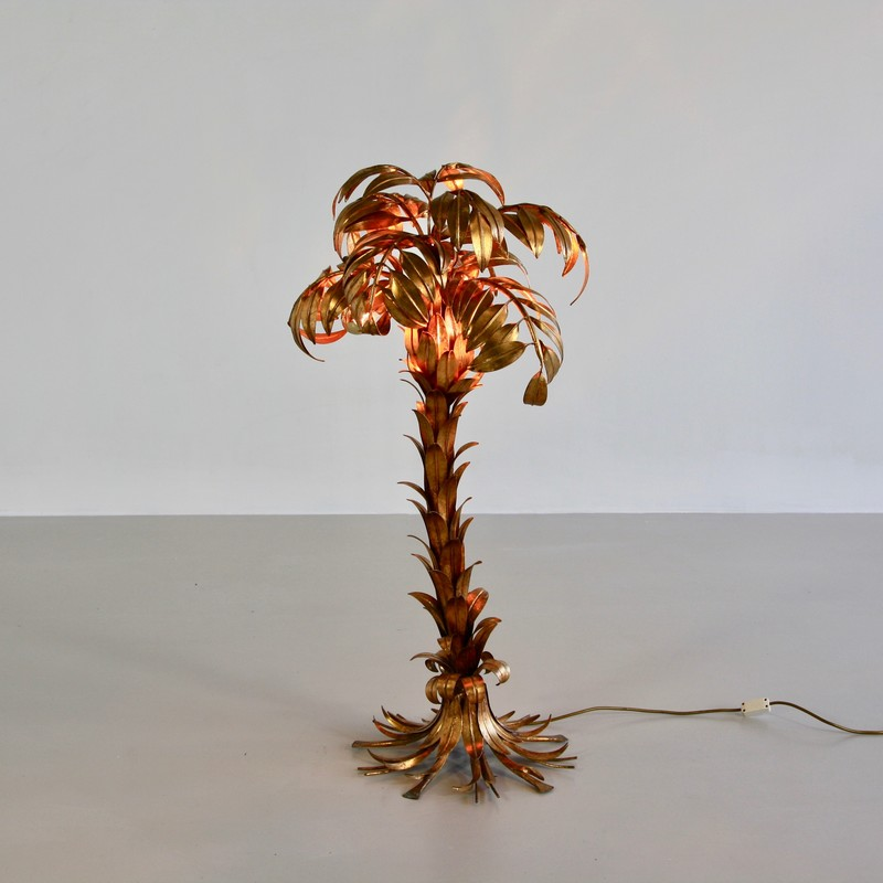Palm Lamp by Hans KÖGEL. full view