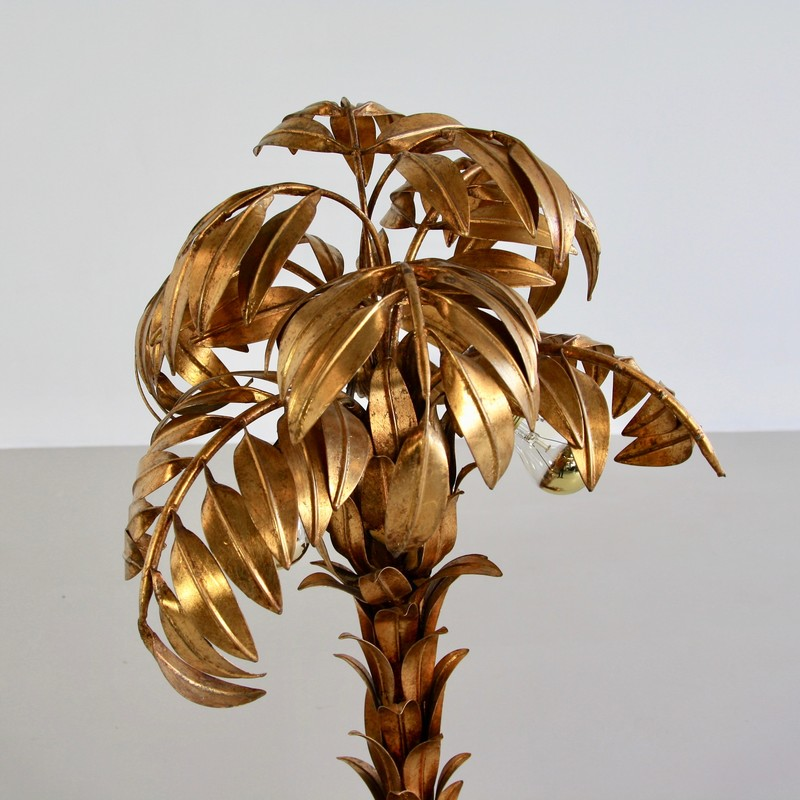 Palm Lamp by Hans KÖGEL. top