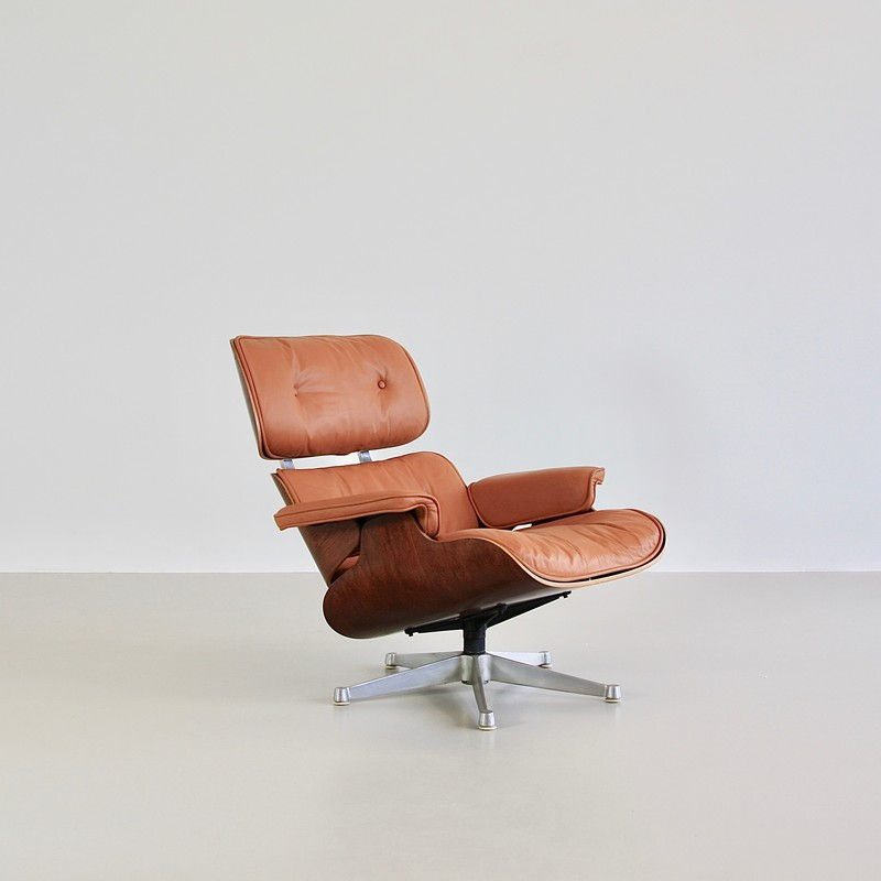 Rosewood Lounge Chair by Ray & Charles EAMES, 1960s