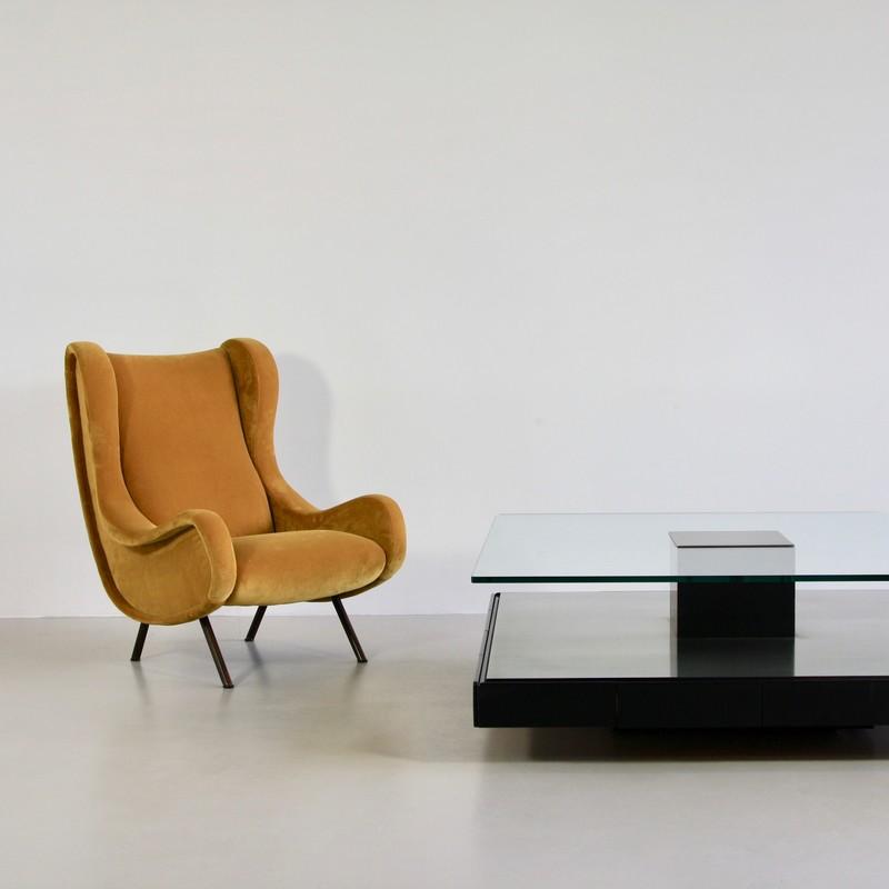SENIOR Armchair by Marco ZANUSO, Arflex Italy