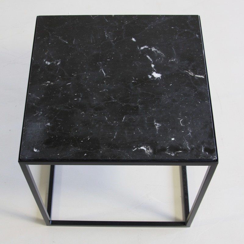 Side Table with marble top (light)