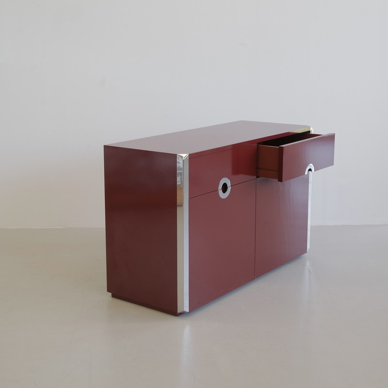 Sideboard by Willy RIZZO, Sabot 1972