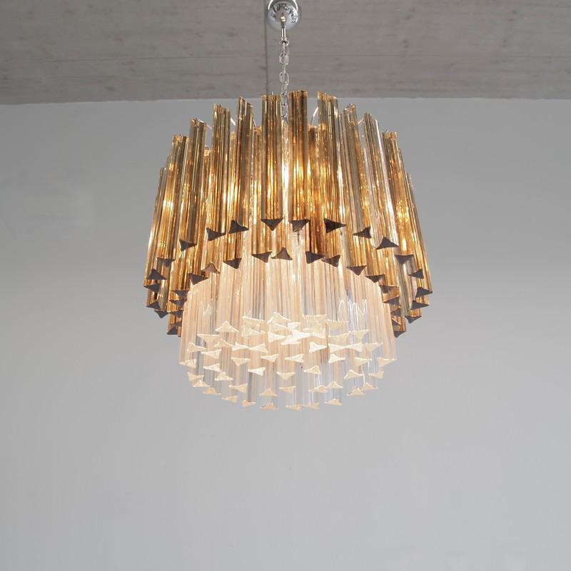 Trilobi Glass Chandelier, MURANO
