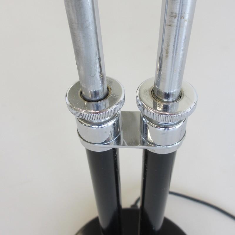 Vintage BAUHAUS Idell 6580 Desk Lamp, design Christian DELL