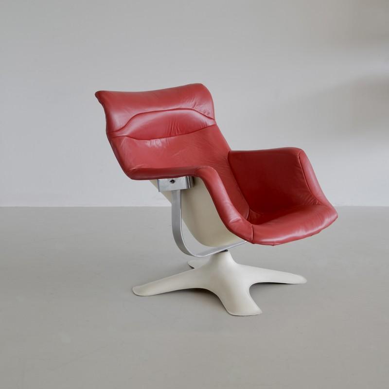 VINTAGE Karuselli Chair by Yrjö KUKKAPURO, 1960s