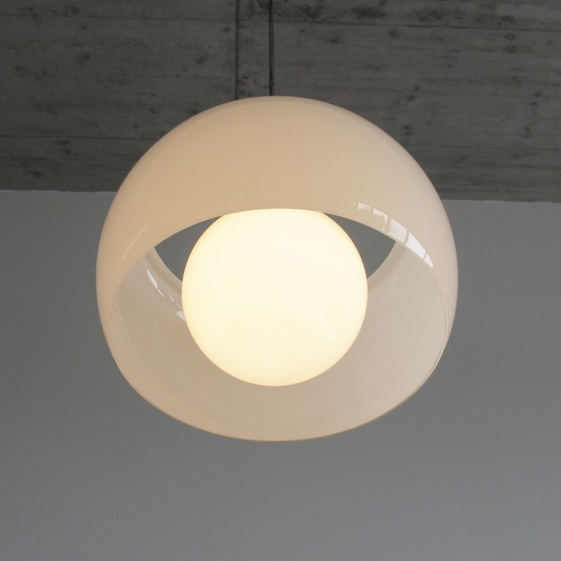 XL OMEGA Hanging Lamp by Vico MAGISTRETTI, 1962