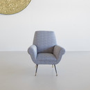 Armchair designed by Gigi RADICE for MINOTTI
