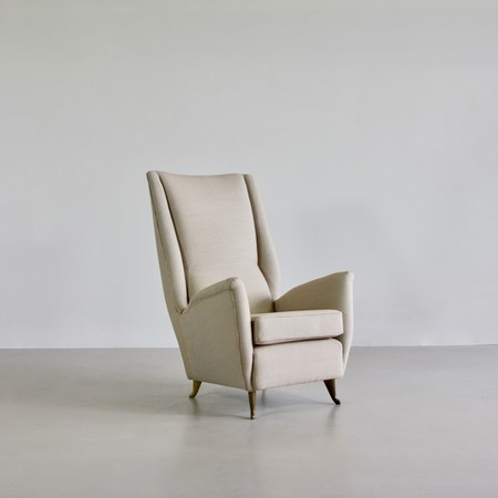 High Back Lounge Chair by I.S.A. Bergamo