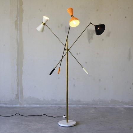 Italian Floor Lamp, 1950's