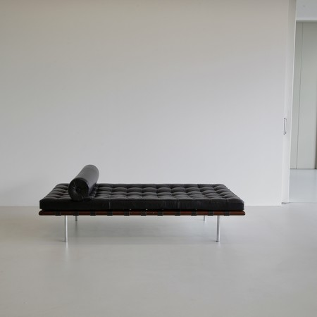 BARCELONA DAY BED, designed by Mies van der Rohe