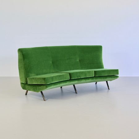 Curved Sofa by Marco Zanuso, 1950